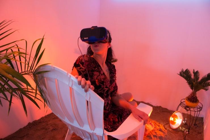 Virtual Reality, Argon, Mercur, Digital, Beach, Technology, Senses, Art, Installation