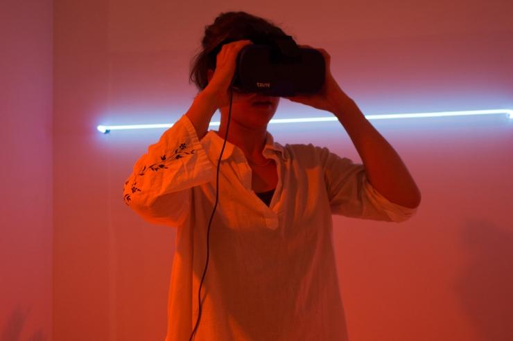 Virtual Reality, Argon, Mercur, Digital, Beach, Technology, Senses, Art, Installation, Teisha, Holloway